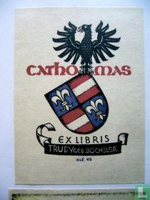 exlibris Familiewapen Cathomas