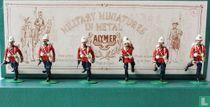 British 24th Foot Regt in action - 1879