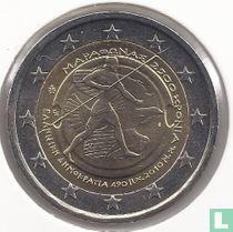 "Griekenland 2 euro 2010 ""2500th anniversary of the Battle of Marathon"""