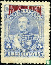 Juan José Flores mit aufdruck