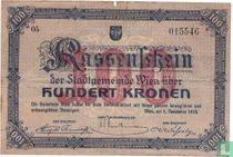 Wien 100 Kronen 1918