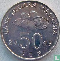 Maleisië 50 sen 2005