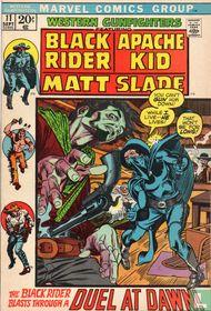 The Black Rider Blasts Through a Duel at Dawn!