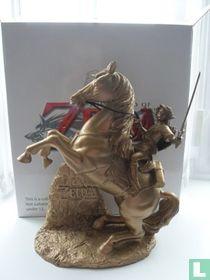 Club Nintendo-Goldene Zelda Link auf Epona-Twilight Princess-Statue