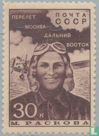 Vlucht Moskou Oost-SU