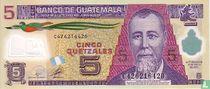 Guatemala Quetzal 5