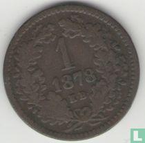 Hongarije 1 krajczar 1878