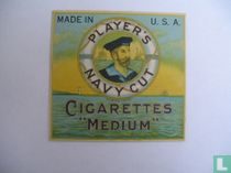 "Player's Navy Cut Cigarettes ""Medium"""