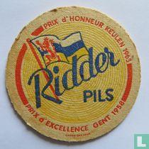 Ridder pils prix d'honneur Keulen 1963 Prix d'excellence Gent 1958