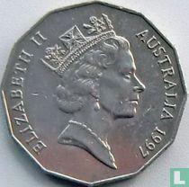 Australia 50 cents 1997