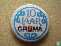 10 jaar Gruma