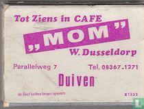 tot ziens in cafe MOM