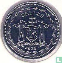"""Belize 5 cents 1978 """"Fork-tailed flycatchers"""""""