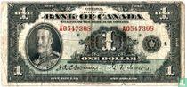 Canada 1 dollar 1935