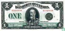 Canada 1 dollar 1923