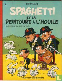 Spaghetti et la peintoure à l'houile