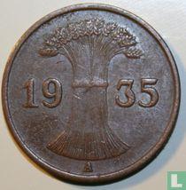 Duitse Rijk 1 reichspfennig 1935 (A)