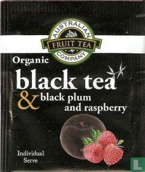 black tea & black plum and raspberry