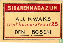 Sigarenmagazijn A.J. Kwaks