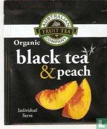 black tea & peach
