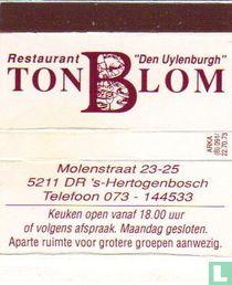 Restaurant De Uylenburgh - Ton Blom