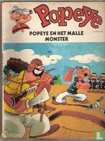Popeye en het malle monster