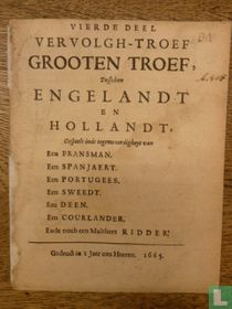 Vierde deel vervolgh-troef grooten troef, tusschen Engelandt en Hollandt