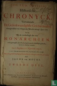 Historische chronyck vervattende de gedenkwaardighste geschiedenissen voorgevallen van 't begin des werelts tot op 't jaar 1660