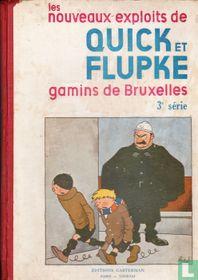 Les nouveaux exploits de Quick et Flupke gamins de Bruxelles 3e série