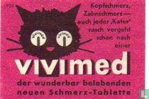 Vivimed - Kopfschmerz, Zahnschmerz auch....