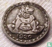 Aachen 25 Pfennig 1920  (Jahreszahl unter der Bärin)