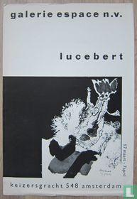Lucebert _ affiche Galerie Espace, 1962