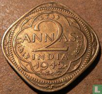 Brits-Indië 2 annas 1942