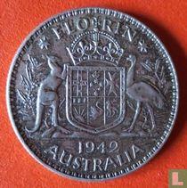 Australië 1 florin 1942 (Geen muntteken)