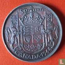 Canada 50 cents 1944