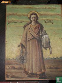 Orthodox icon Sf. Stefan