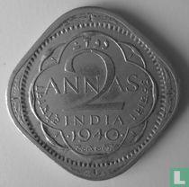 Brits-Indië 2 annas 1940 (Bombay)