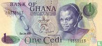 Ghana 1 Cedi 1975