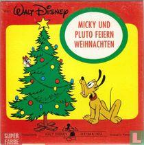 Micky und Pluto feiern Weihnachten