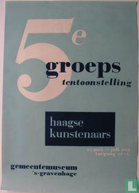 5e groepstentoonstelling Haagse kunstenaars