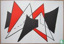 Alexander Calder - Compositie , Litho, 1963
