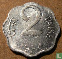 India 2 paise 1978 (Hyderabad)