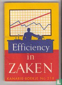 Efficiency in zaken
