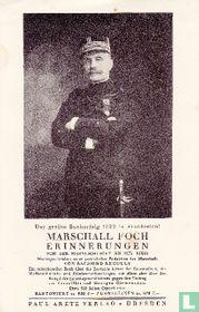 Marschall Foch Erinnerungen leaflet