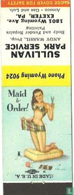 Pin up 50 ies Maid to order!