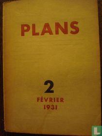 Plans (Revue Mensuelle)  - 2 Février 1931