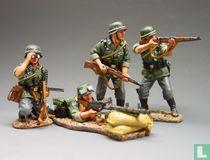MG34 Gun Set (4 figs)
