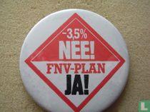 -3,5% Nee! FNV-plan Ja!