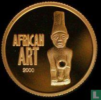 """Congo-Kinshasa 20 francs 2000 (BE) """"African art"""""""