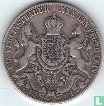 Hannover 1 thaler 1861
